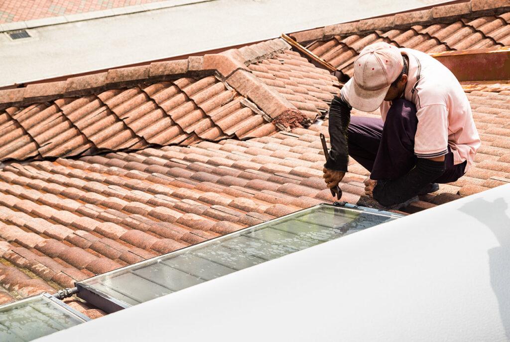 réparation fuite toit à Bordeaux
