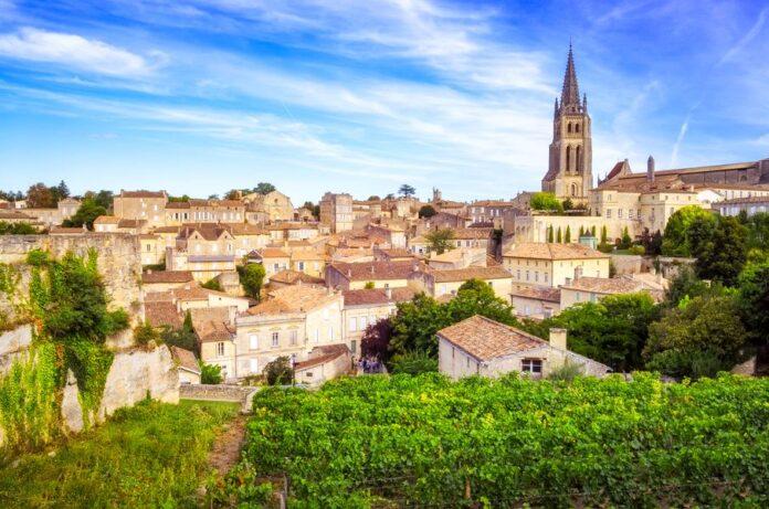 Le village de saint emilion en Gironde